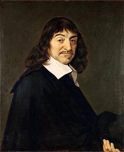 René Descartes; etwa 1649-1700, momentaner Standort: Louvre, Richelieu, 2nd floord, room 27; Herkunft/Fotograf: André Hatala [e.a.] (1997) De eeuw van Rembrandt, Bruxelles: Crédit communal de Belgique, ISBN 2-908388-32-4.