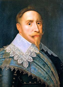 Gustav II. Adolf, wurde in der Schlacht bei Lützen tödlich verwundet. Quelle: Wikimedia Commons, erstmalig hochgeladen von Den fjättrade ankan.