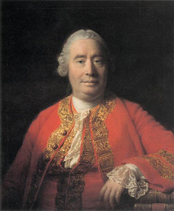 Porträt von David Hume (1711-1776) von Allan Ramsay; Standort: National Gallery of Scotland, Herkunft: Web Gallery of Art / Wikimedia Commons