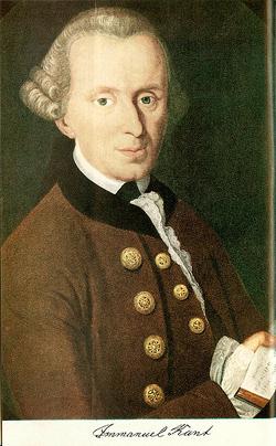 Immanuel Kant; Quelle und Autor unbekannt / Wikimedia Commons