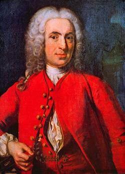 Porträt des Carolus Linnaeus (1707-1778) von Johan Henrik Scheffel (1690-1781), 1739; Wikimedia Commons (Current location unknown, Source/Photographer unknown)