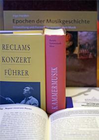 Literatur zur Geschichte der Musik