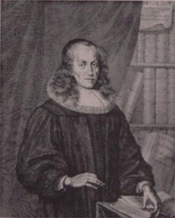 Philipp Jacob Spener, Kupferstich von Philipp Nikolaus Kilian (1628-1693), 1683; Wikimedia Commons