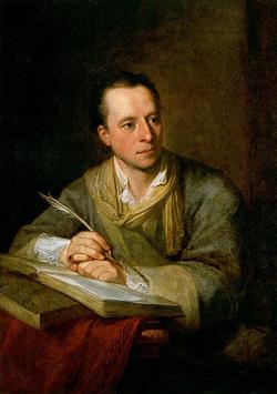 Bildnis Johann Joachim Winckelmann von Angelika Kauffmann, 1764; Momentaner Standort: Kunsthaus Zürich / Quelle: Wikimedia Commons, uploaded by --Immanuel Giel, scanned from book