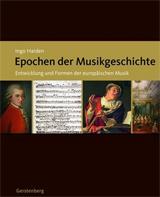Cover des Buchs: Harden, Ingo: Epochen der Musikgeschichte.