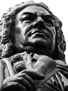 Denkmal in Leipzig: Johann Sebastian Bach, Rechte: Find-das-Bild.de/Michael Schnell