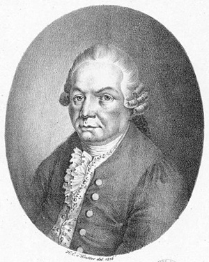 Carl Philipp Emanuel Bach, von Heinrich Eduard Winter (1788–1829), 1816. This image comes from Gallica Digital Library and is available under the digital ID btv1b8415490p / Wikimedia Commons