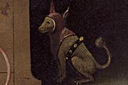 """Ausschnitt aus dem Bild """"Der Gaukler"""" von Hieronymus Bosch; Bild: 5.555 Meisterwerke. © 2000 DIRECTMEDIA Publishing GmbH"""