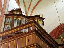 Barocke Orgel in Norden (Niedersachsen)